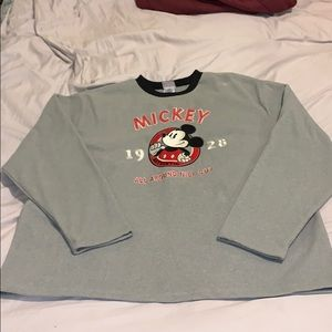 Mickey Mouse Crew Neck